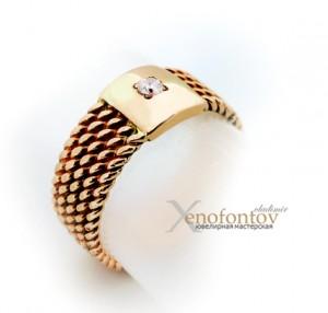кольцо-печатка k-0005